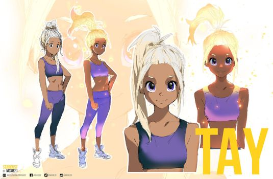 Tay - Concept Art | Stardust by moxie2D