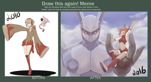 Draw Again Meme (200 watchers special!) by Miko-Koro