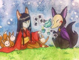 Tea Time by Tsuani-Inushiro