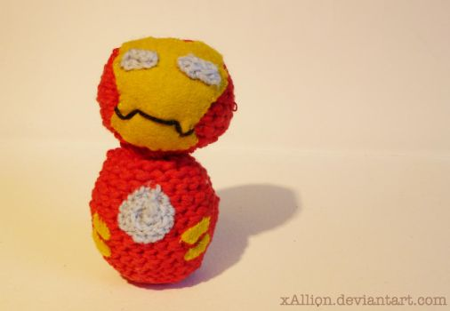 Iron Man Amigurumi by xAllion