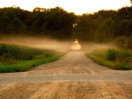 The foggy road - Color by brandychristine1987