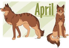 April by Wuhzzles