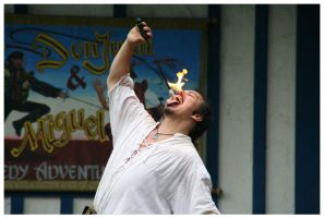 Fire Eater by TheDarkRoom-Photo