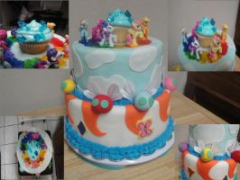 MLP CAKE by iamkoold