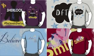 Fandom T-Shirts Set 2 (Updated 12.8) by StarsOfCASSiOPEiA