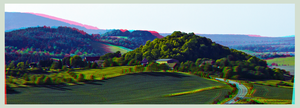 Heimburg in the Harz Mountains ::: DRi Anaglyph 3D by zour
