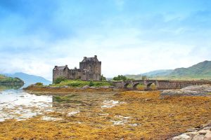 Where the Highlander was filmed - Eilean Donan by AgiVega