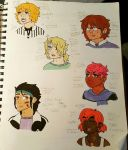 side character ocs by iamtherainbow