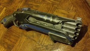 Prototype Mark III Nerf Rough-Cut shotgun 2.2 by DrDisco777