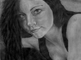 Amy Lee by DeanSidwellArt