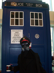 Zee Captain and zee Tardis by BlueSmudge