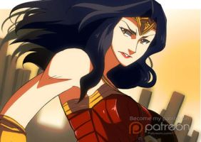 Wonder Woman by hanukara
