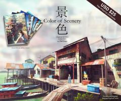 Color of Scenery ArtPrint Collection by FeiGiap