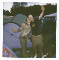 Leeds Fest Polaroids - Muddy by el-ginge