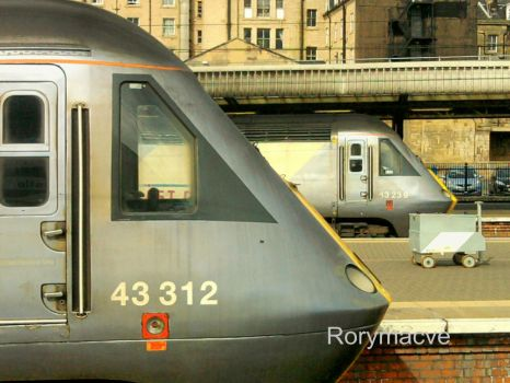 East Coast 43312 at Newcastle Central by The-Transport-Guild