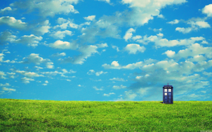 TARDIS Wallpaper by Nekoknight