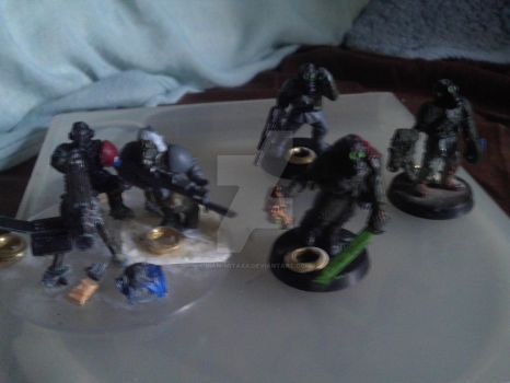 Old Platoon command squad unpainted by Liam-mitaxa