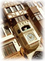 Jousting Clock by Labrug