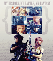 Lightning and Noctis by tifa-tifa