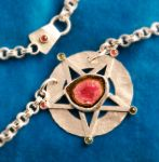 Tourmaline Pentacle by SoulStoneDesigns