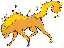 new flare cat pet by PoltergeistForever