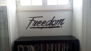 Freedom Wall by KGSHiFT