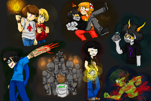 Lost In Amnesia Group Pic [Finished] by Blueshadow54