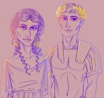 Agrippina and Germanicus by 0torno