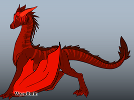 My Dragon Of Redness by Ember-Flame007