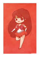 Sailor Mars by beyx