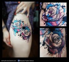 watercolor cover up by redtrujillo