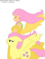 Color Job - Humanized Fluttershy by AltrForm