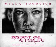 Resident Evil: Afterlife BW 2 by karthik82