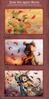 Snufkin Autumn - Before and After.. And After by FantasyGold