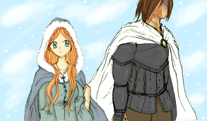 Sansa and Sandor by SandraXo2X