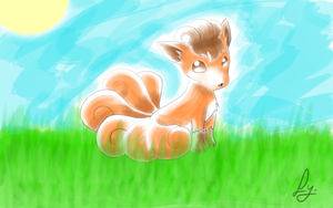 Vulpix by KemikLy