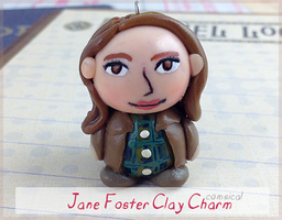 Jane Foster Clay Charm by Comsical