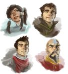 LOK Speed Painting Portraits 2 by CG-chris