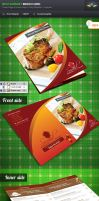 Swaad Restaurant Menu Card by Saptarang