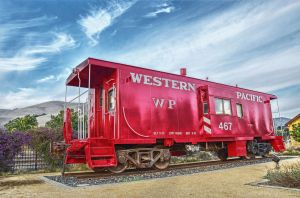 Caboose by PaulWeber