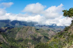 View from Bras-rouge hiking path by mx-craft