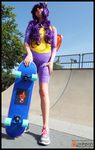 (Spyro) The Most Badass Skateboarder Cosplay by KrazyKari