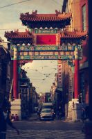 chinese gate - antwerp by codeboy