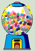 Tyg's Gumball/Capsule Machine (open and updated) by Tygerlanders-adopts