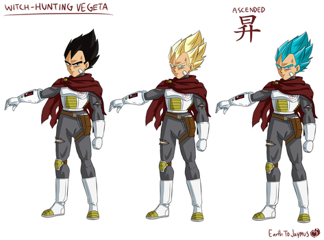 Witch-Hunting Vegeta by SolidifyArt