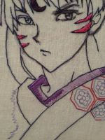Sesshomaru embroidery preview by sirhobbit