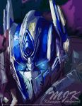 TF AOE Optimus Abstract - On This Night by OPGirl106