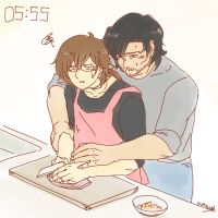 Lex - Cooking? by honeyf