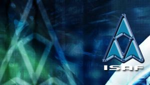 ISAF Logo :PSP Wallpaper: by lincer556