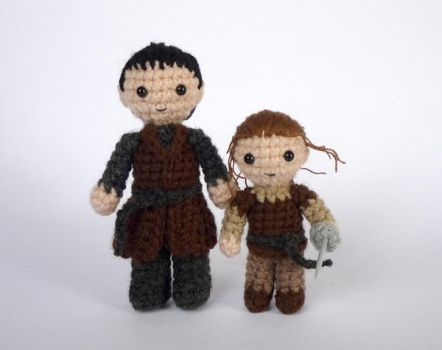 Gendry and Arya by LunasCrafts